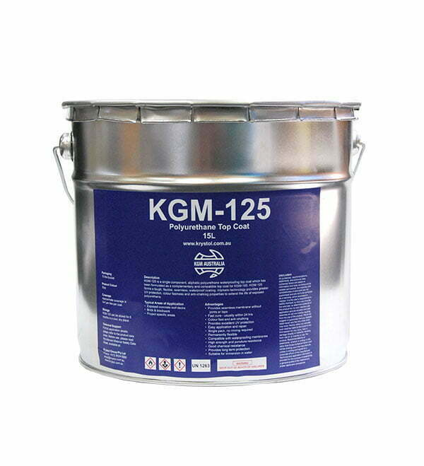 KGM-125 Polyurethane Top Coat