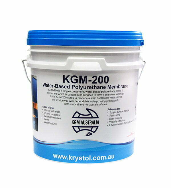 KGM-200 Water-Based Polyurethane Membrane