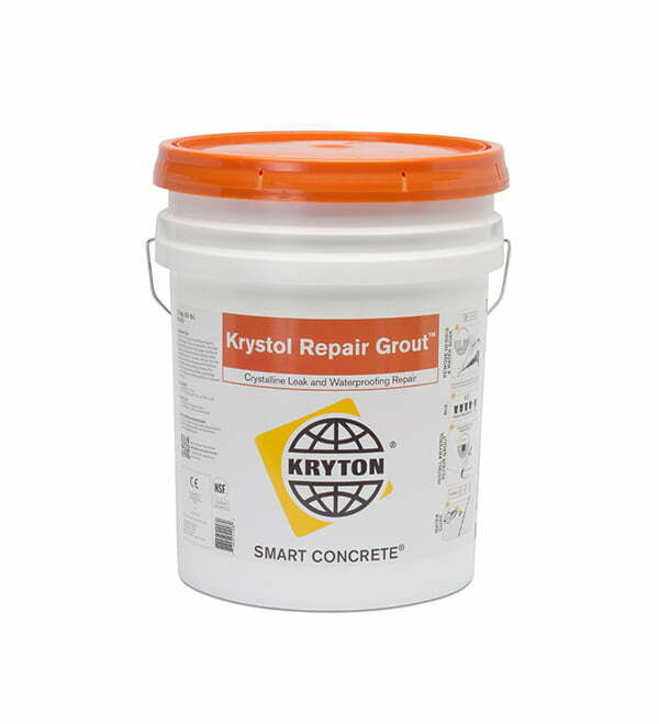 Krystol Products Admixture & Remedial Repair Grout_K510