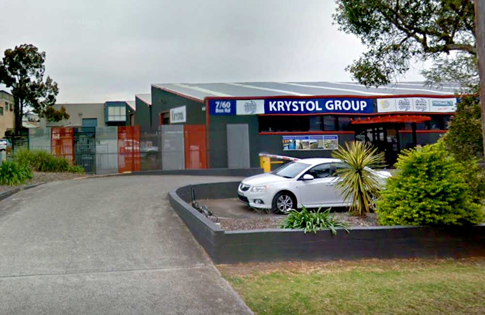Krystol Group Warehouse